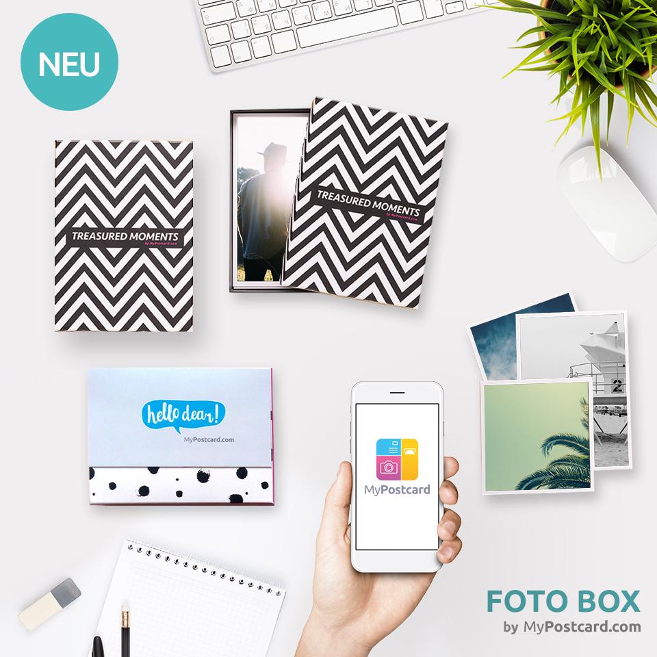 Foto-Box MyPostcard App