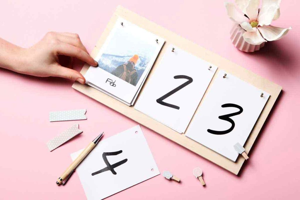 Your DIY Photo Calendar with your own Pictures