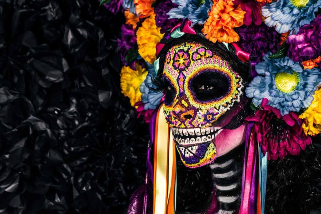 Day of the dead in Mexico is one version of Halloween around the world