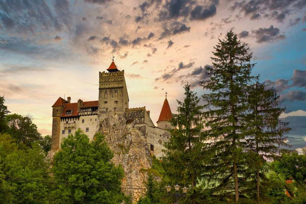 Halloween around the world is inspired by Bran Castle in Romania