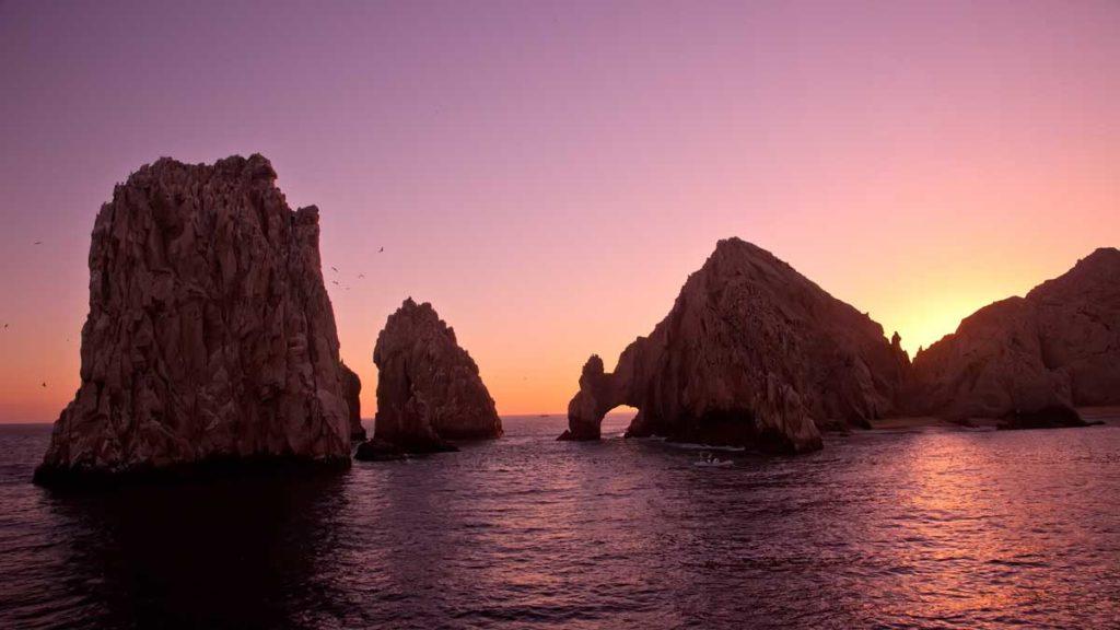 Einzigartige Felsformation von Los Cabos als ein Reiseziel 2020