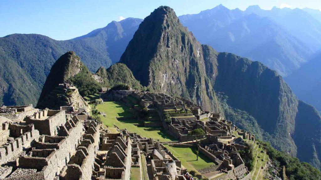 Machu Picchu: ein Ort, den man 2020 besuchen sollte, Luftbild