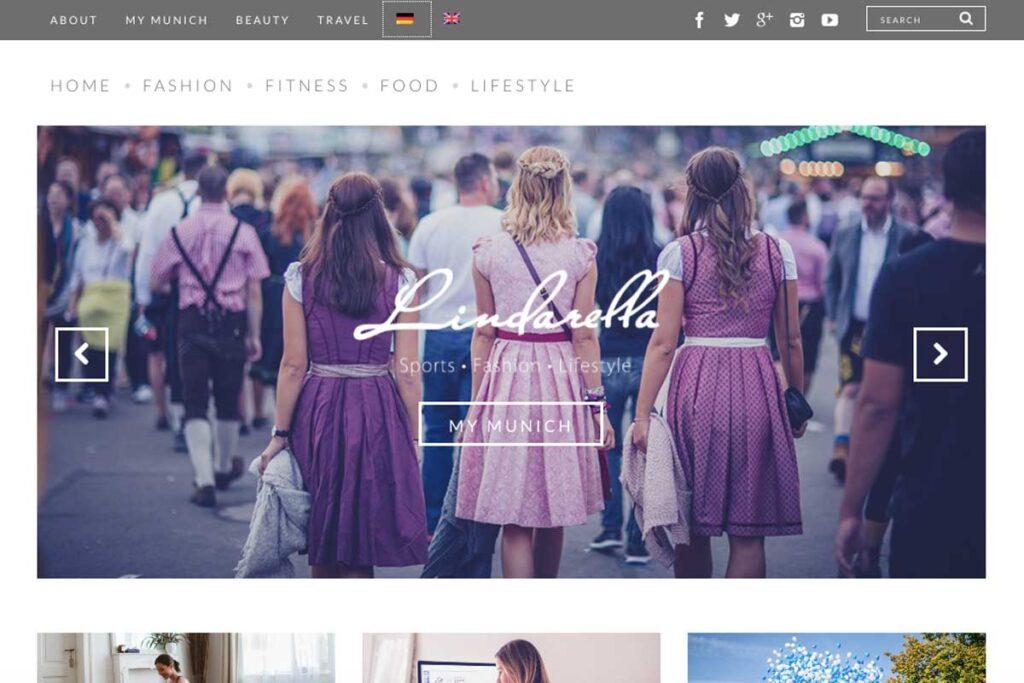Eine inspirierende blog von Lindarella