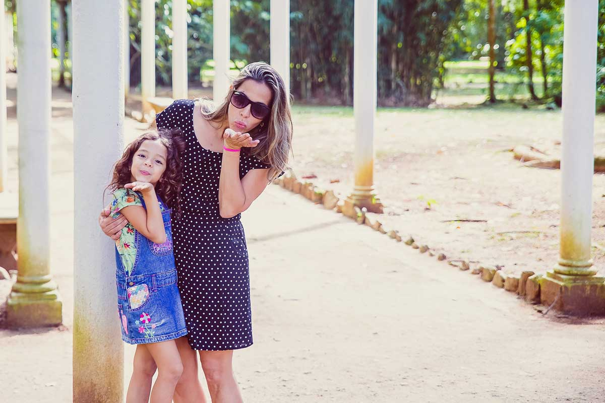 mother and daughter celebrate a happy mother's day together