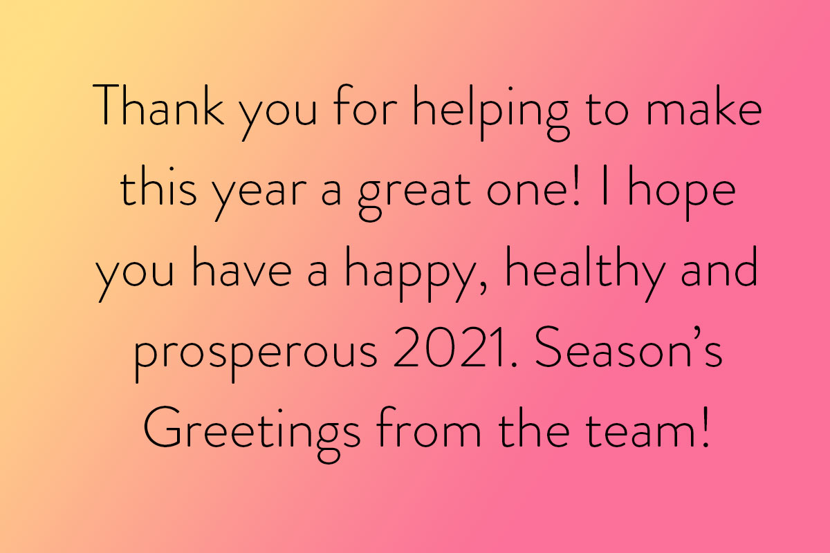 One of the best New Year wishes quotes for your staff or colleagues