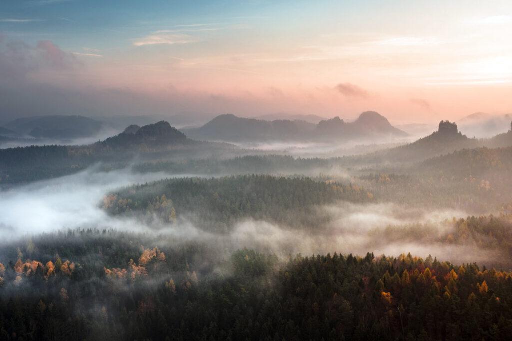 Die Sächischer Schweiz als der perfekte Naturlaub in Deutschland