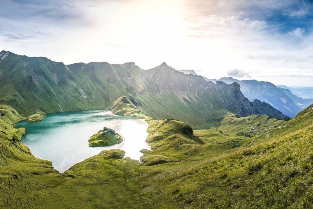 Schrecksee in Deutschland ist vielleicht der schönsten Natururlaub