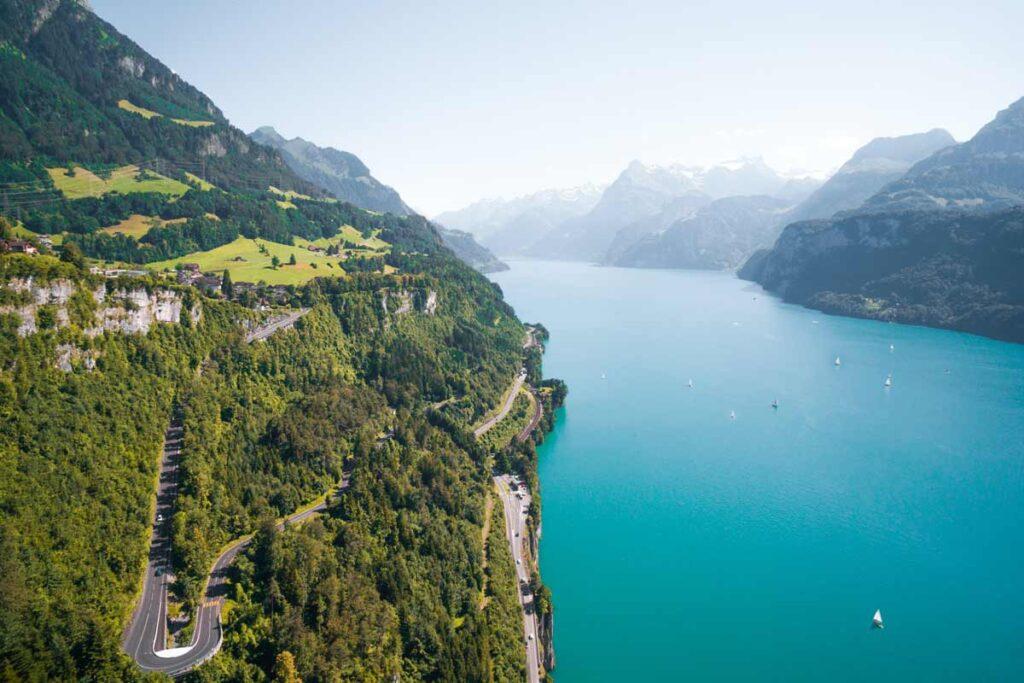 Roadtrips in Europa werden nie besser als diese in der Schweiz
