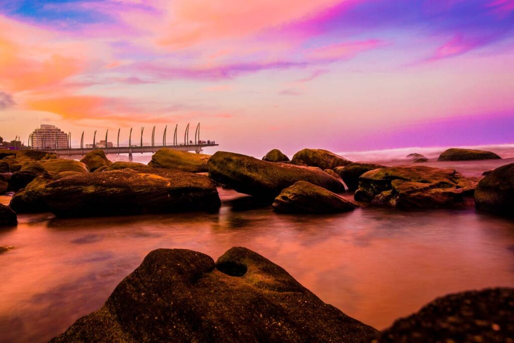 Durban pictured here in twilight  is a wildly underrated beautiful spot in Africa