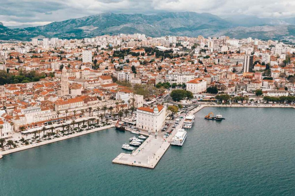 Split in Croatia is one of Europe's most underrated spots on the coast