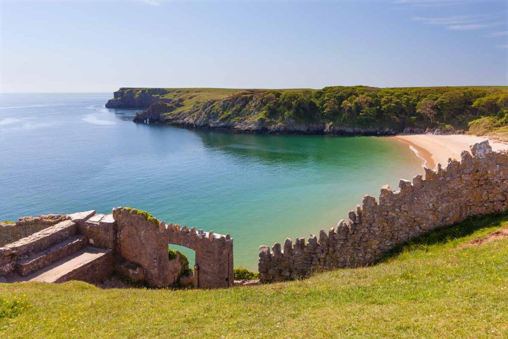 Bayfudle Bay is one of the world's recognized top 10 beaches making it one of the best rural places to visit in the UK