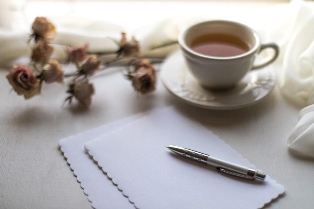 freundschaft pflegen durch handgeschriebene Briefe