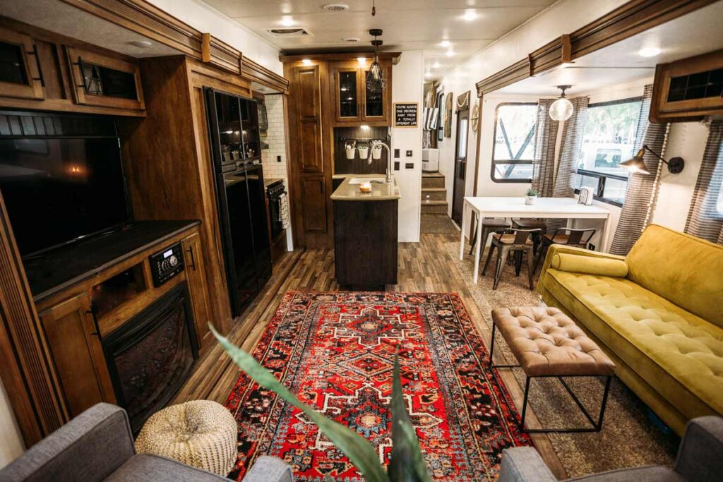 How an RV home looks from the inside