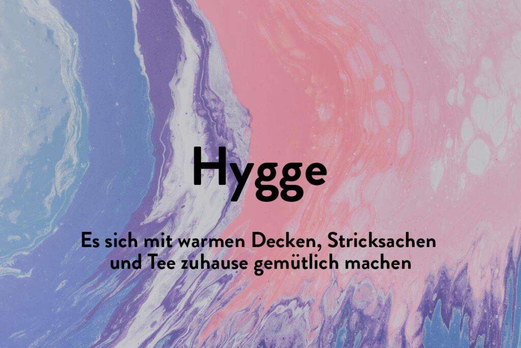 Hygge kennt viele. Eine Dänische Konzept von Gemütlichkeit